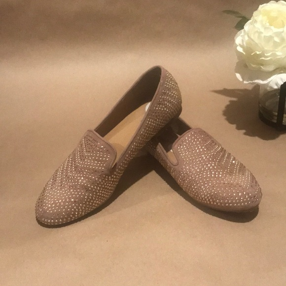 BAMBOO Shoes - Bamboo Bedazzled Flats
